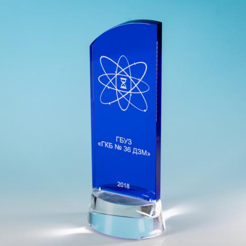 Награда врачам из стекла