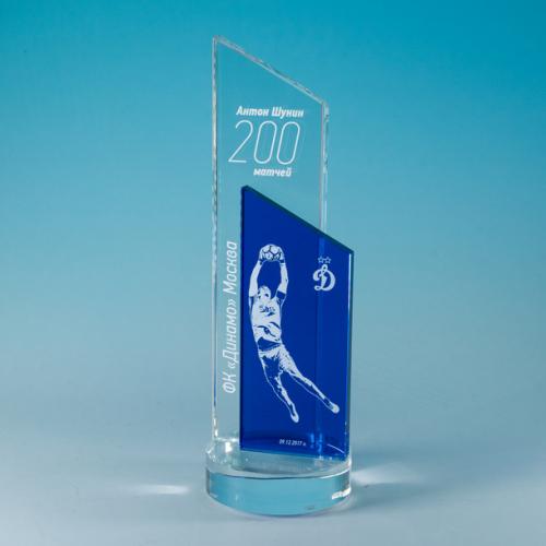 Награды из стекла на подставке